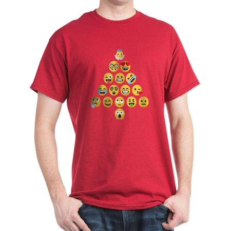 Cafepress Emoji Christmas Tree Emojis 100 Cotton T Shirt