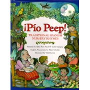 Pio Peep! Traditional Spanish Nursery Rhymes: Bilingual Spanish-English (Hardcover)