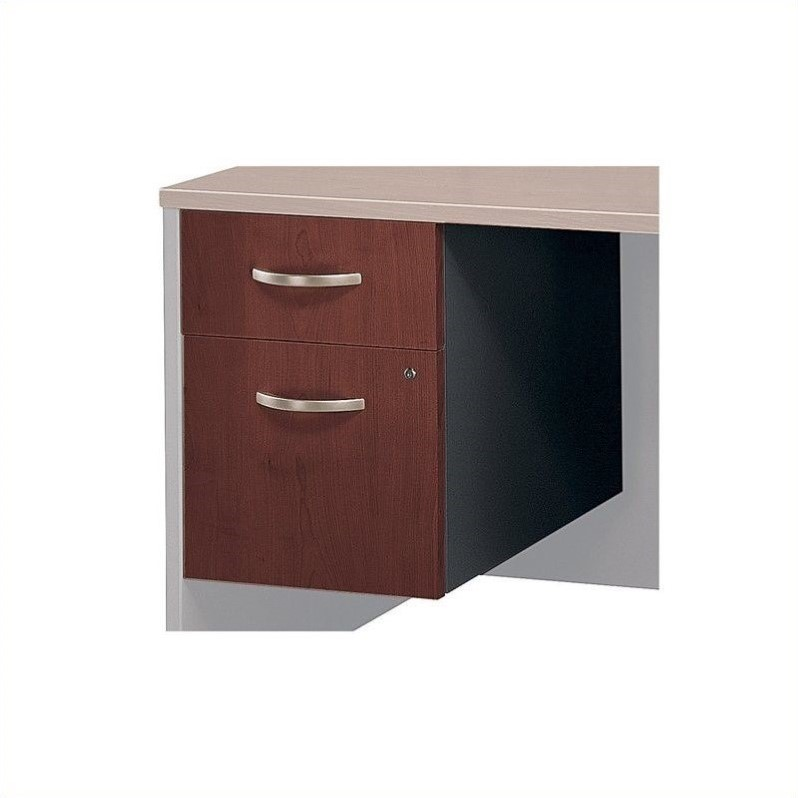 Bush Business Series C 2 Drawer Pedestal (Assembled) in Hansen Cherry - image 3 de 3