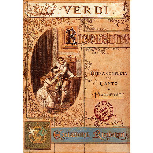 "Trademark Fine Art ""Verdi"" Canvas Art"
