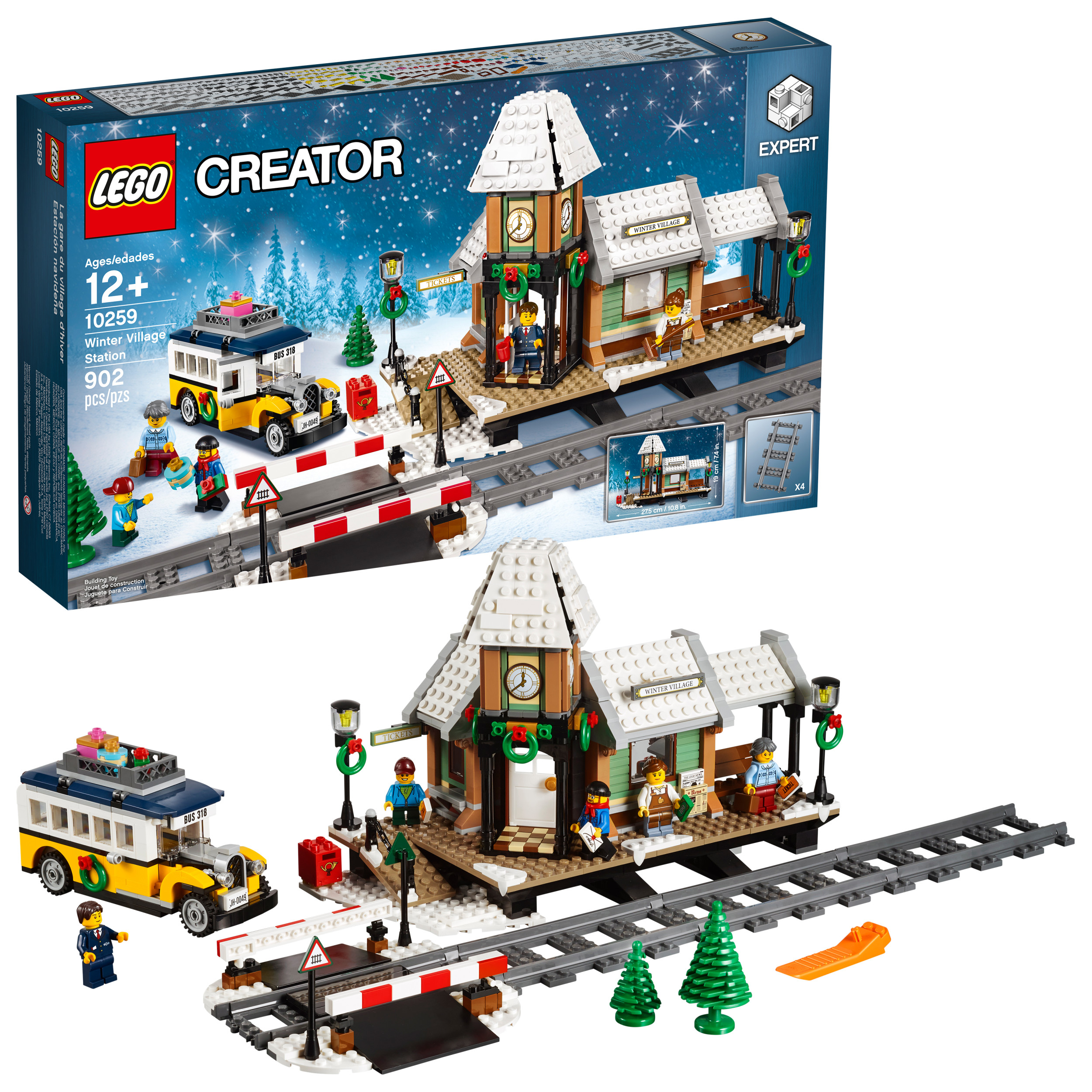 lego creator expert winter village station 10259 walmartcom