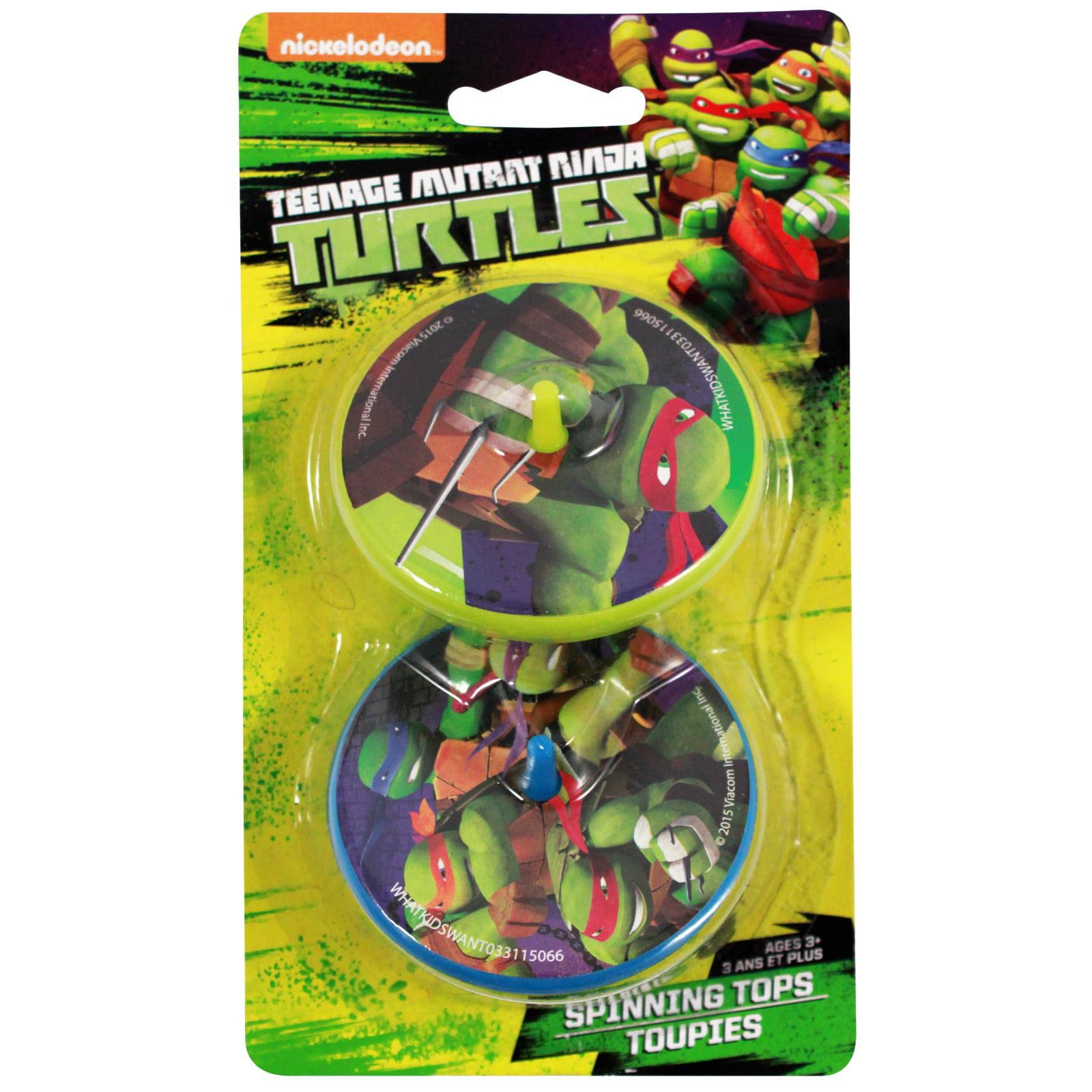 Ninja Turtles Spinning Tops 2pk Boys TMNT Toy