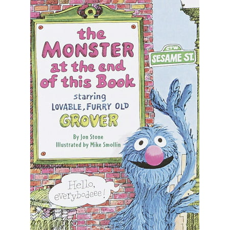 The Monster at the End of This Book (Sesame Street) (Board Book) - Abby From Sesame Street