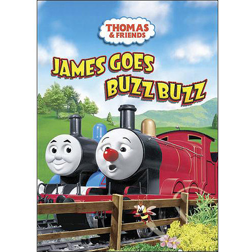 Thomas & Friends: James Goes Buzz Buzz dvd (2009) George Carlin; David Mitt...