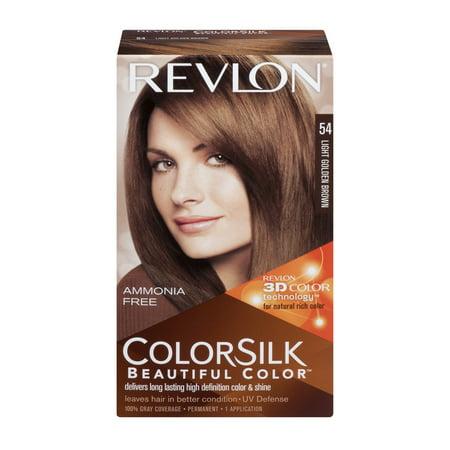 Revlon Colorsilk Beautiful Color Permanent 54 Light Golden