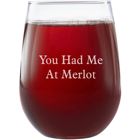 Personalized Create Your Own Stemless Wine Glass, Choose Block or Script (Personalized Plastic Wine Glasses)