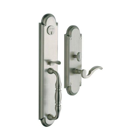Baldwin  6544.RENT  Keyed Entry  Hamilton  Mortise Lock  Single Cylinder  ;Lifetime Satin Nickel