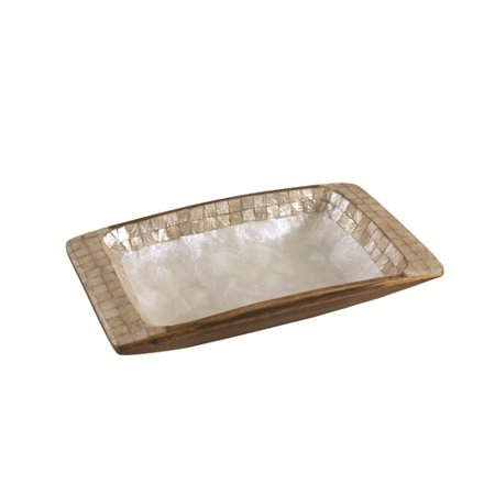 Dekorasyon Gifts & Decor Acacia Large Rectangular Serving Tray - Walmart.com