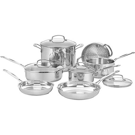 Click here for Cuisinart 11-Piece Chefs Classic Cookware Set  Sta... prices