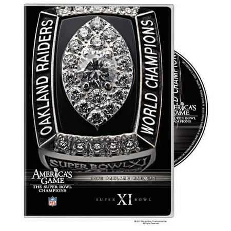 Oakland Raiders Super Bowl 11 (DVD)