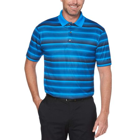 Graphic Print Polo (Ben Hogan Men's performance graphic kinetic stripe short sleeve polo)