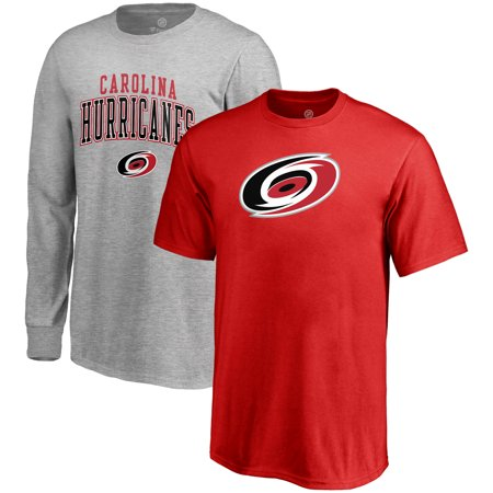 32bc95de2 Carolina Hurricanes Fanatics Branded Youth T-Shirt Combo Set - Red Gray -  Walmart.com