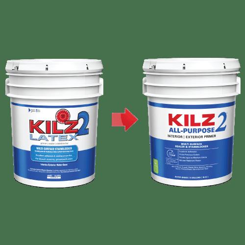 Kilz 2 Interior Exterior Multi Surface Primer Sealer