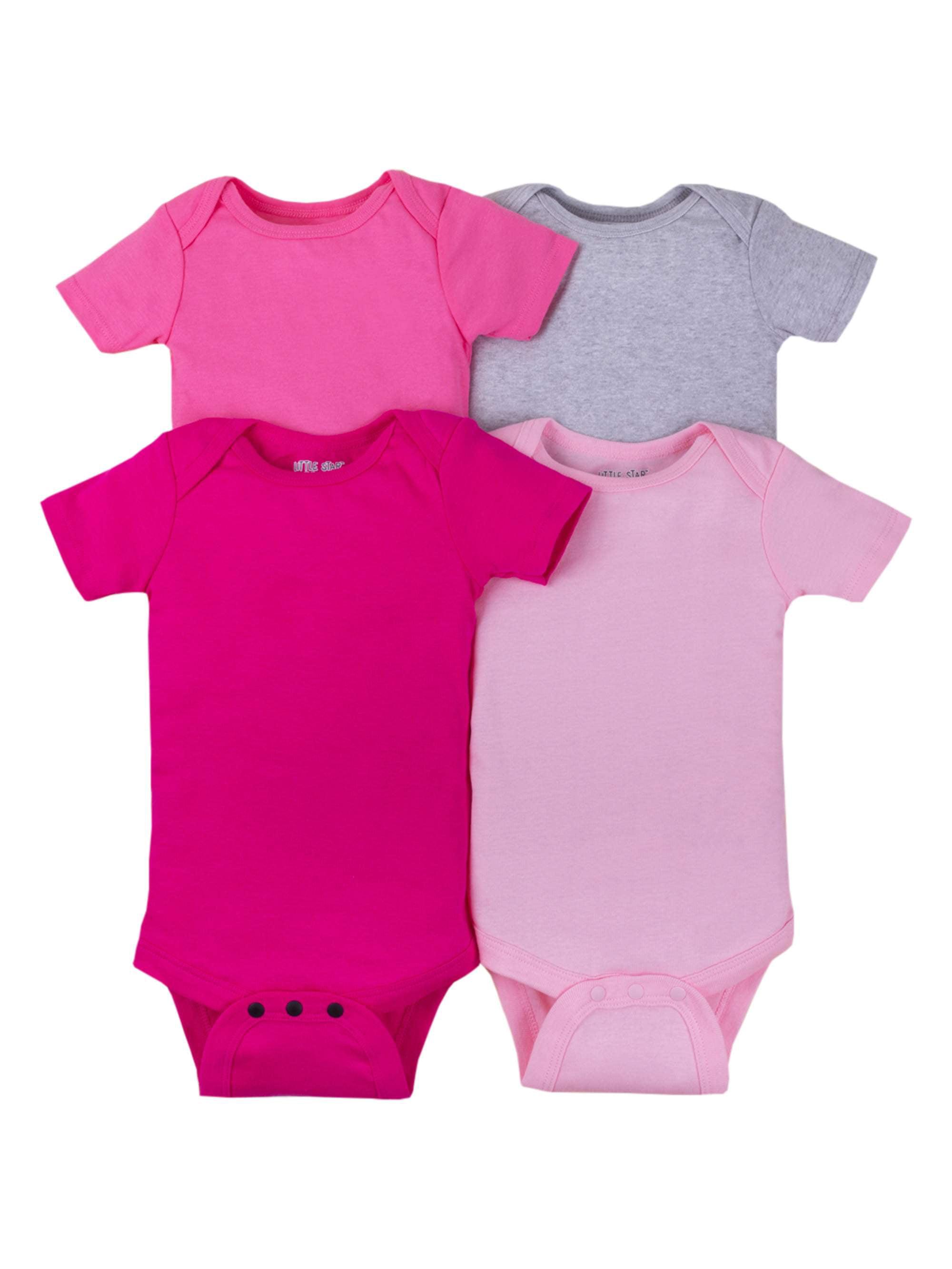 Walmart Infant Girl/'s Easter Short Sleeve Pink Creeper Easter Chick 3-6 Months
