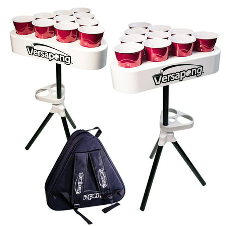 Versapong Portable Beer Pong Table and Tailgate Game (Blacklight Beer Pong)