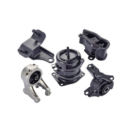 For 1999 2000 2001 2002 2003 2004 Honda Odyssey 3.5L V6  Engine Motor & Trans Mount Hydraulic Set 5PCS  A4518, A4519HY, A6552, A6579, A6582 1999 2002 Honda Odyssey Auto