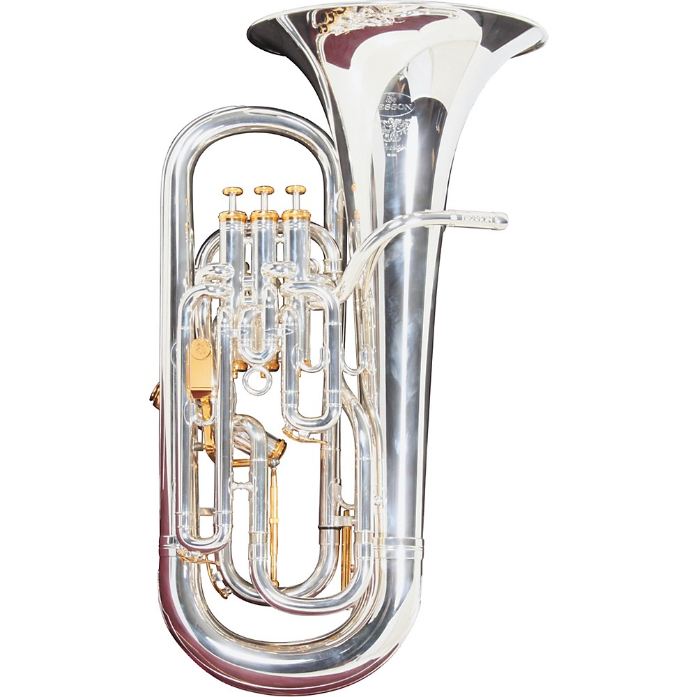 Besson BE2052 Prestige Series Compensating Euphonium Silver by Besson