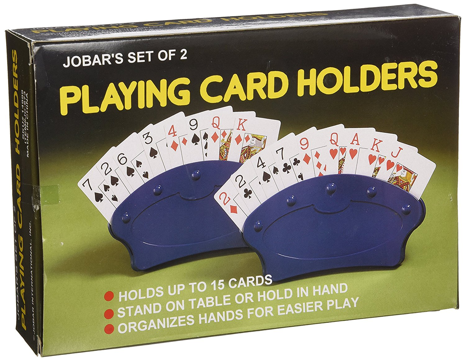 Playing Card  Domino Holder set of 2