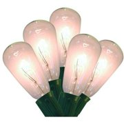 Holiday Time Edison Bulb Christmas Lights, Clear, 10 Count