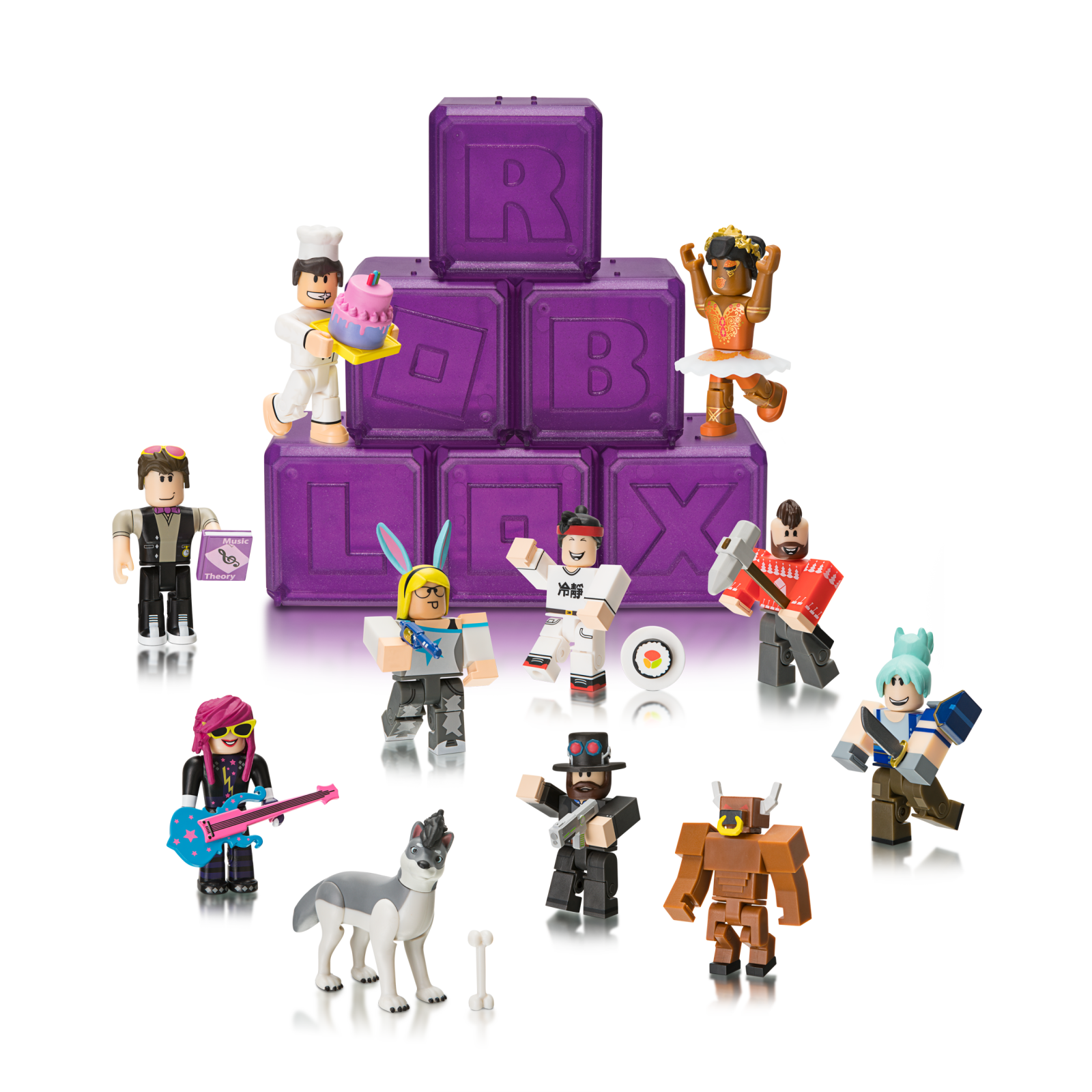 Details About Roblox Celebrity Collection Series 3 Mystery Pack Purple Cube - Roblox Gold Series 3 Celebrity Collection Mystery Pack