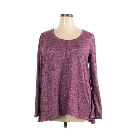 Pre-Owned Jones New York Women's Size XXL Long Sleeve T-Shirt