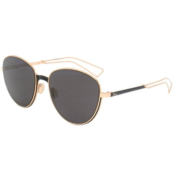 d434fc7482cb0 Christian Dior Ultra RCWY1 Black   Gold Sunglasses