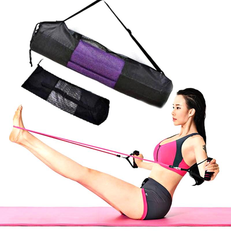 BALIGHT Portable Exercise Yoga Tools Sport Yoga EVA Mats Yoga Bags 173*60*0.4CM