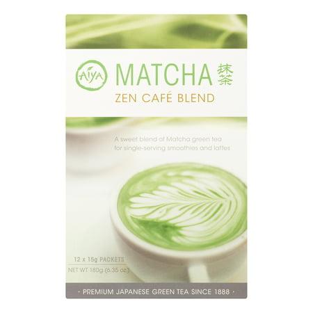 Image of Aiya Matcha Cen Caf © Tea Sticks, 12 Count