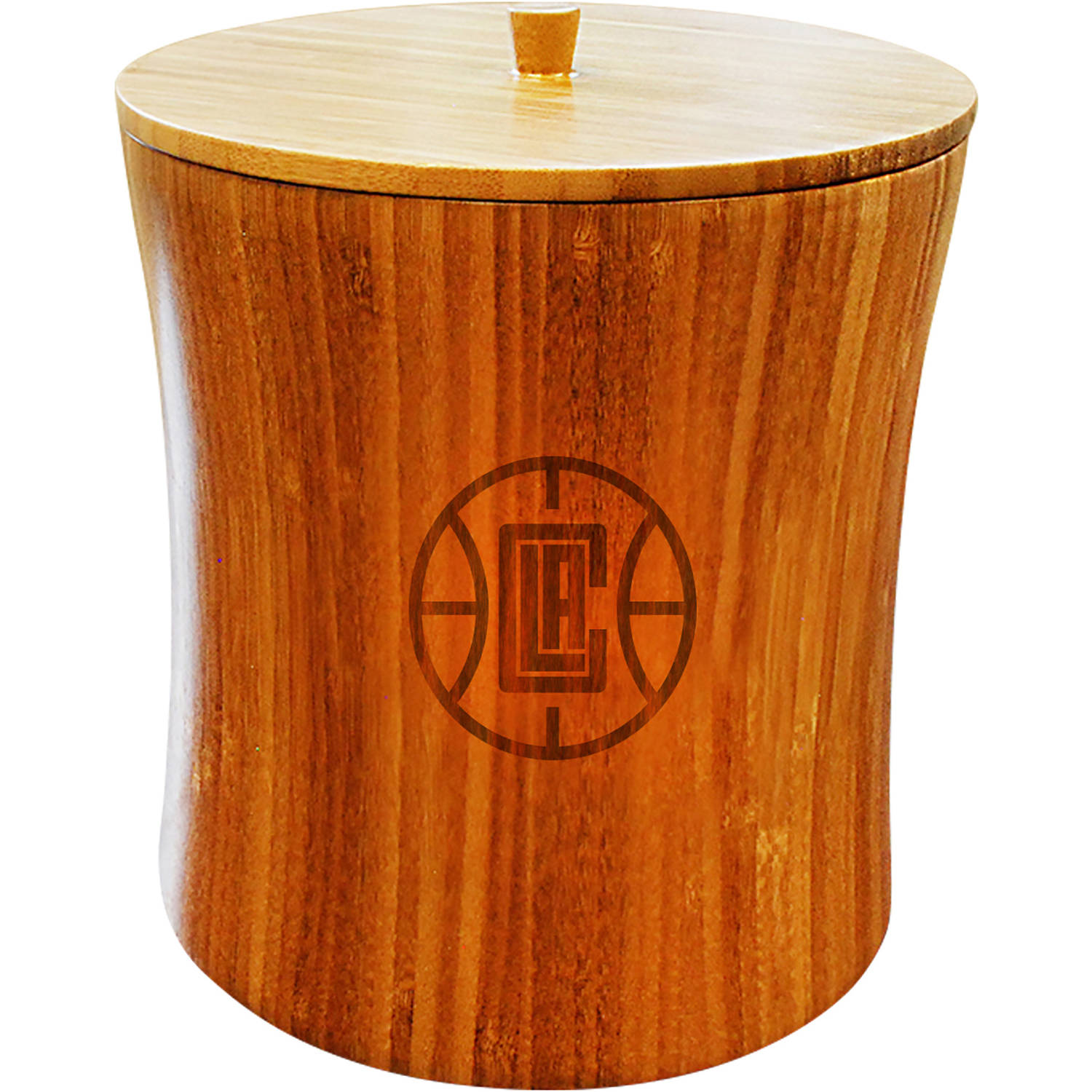 NBA Team Engraved Bamboo Ice Bucket