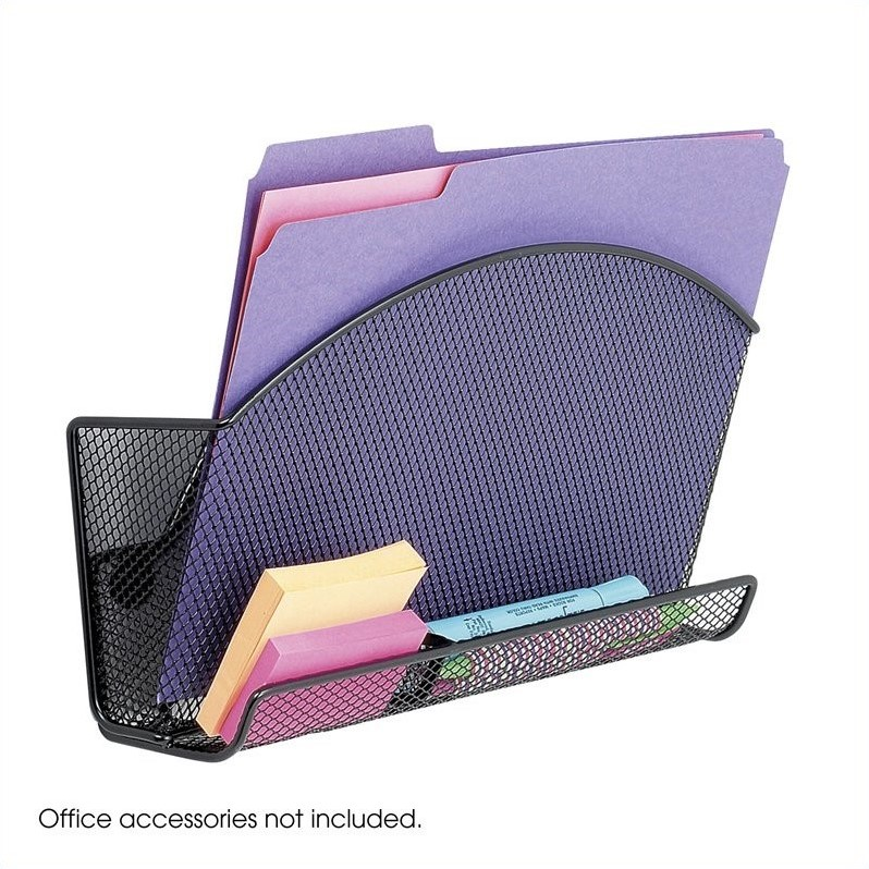 Scranton & Co Magnetic Mesh File Pocket (Set of 6)