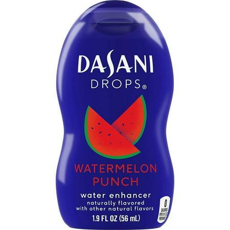 Dasani Drops Water Flavor Enhancer Drink Mix Watermelon Punch 19