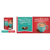 NESTLE Fat Free Rich Milk Chocolate Hot Cocoa Mix, 7.33 Ounce (Pack of 4)