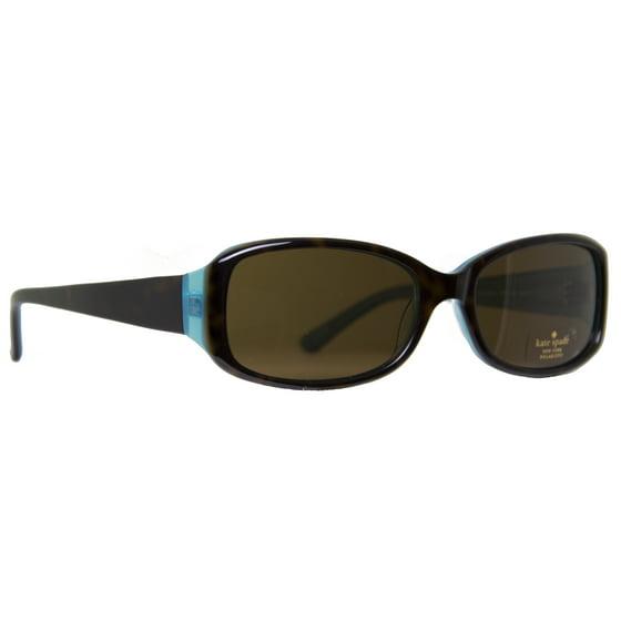 7ca79baa277 KATE SPADE - Kate Spade New York Paxton N S JEYP Tortoise Brown Aqua  Women s Sunglasses - Walmart.com