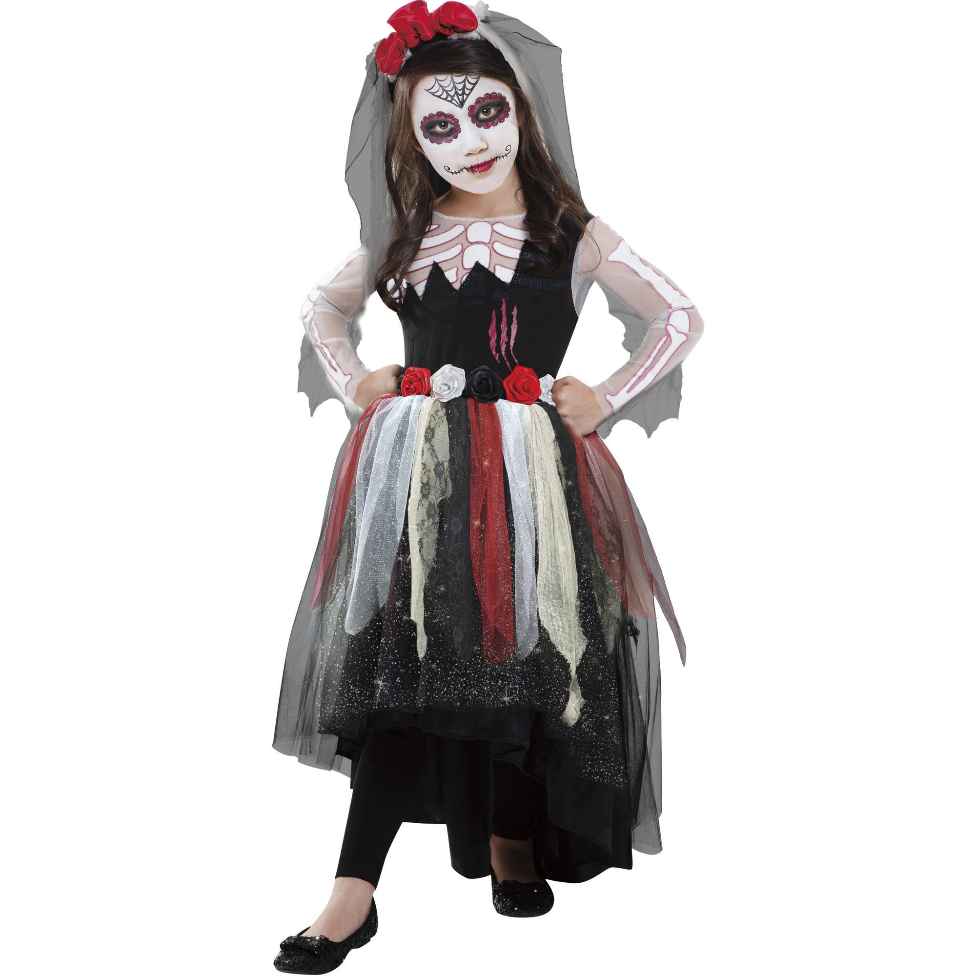 Day Of The Dead Toddler Halloween Costume