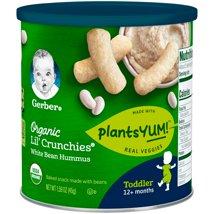 Baby & Toddler Snacks: Gerber Organic Lil' Crunchies
