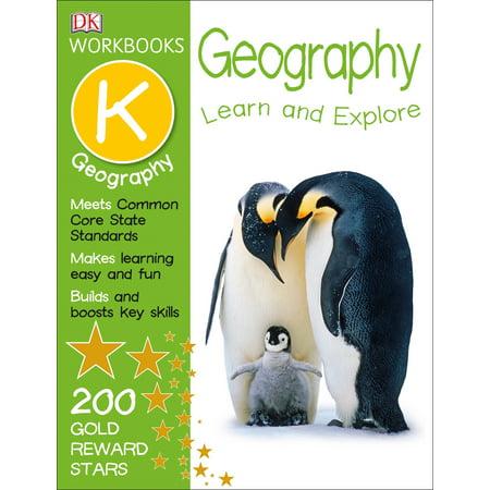 DK Workbooks: Geography, Kindergarten for $<!---->