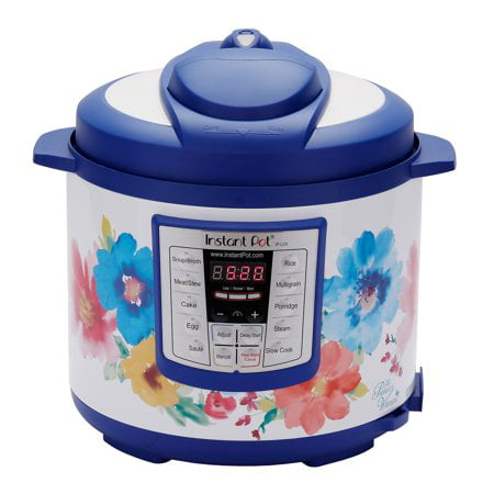 The Pioneer Woman Instant Pot LUX60 6 Qt Breezy Blossoms 6-in-1 Multi-Use Programmable Pressure Cooker, Slow Cooker, Rice Cooker, Sauté, Steamer, and Warmer