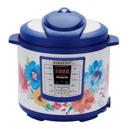 The Pioneer Woman Instant Pot LUX60 Breezy Blossoms 6-Quart 6-in-1 Multi-Use Programmable Pressure Cooker, Slow Cooker, Rice Cooker, Sauté, Steamer, and Warmer