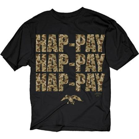 Duck Dynasty Hap-Pay Camo Adult T-Shirt](Camo Stuff For Boys)