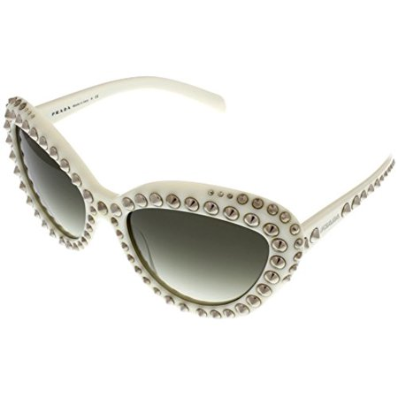 0ddaebc790 Prada - Prada Sunglasses Women Ivory Cateye PR31QS 7S30A7 Size  Lens  Bridge   Temple  57-19-140 - Walmart.com