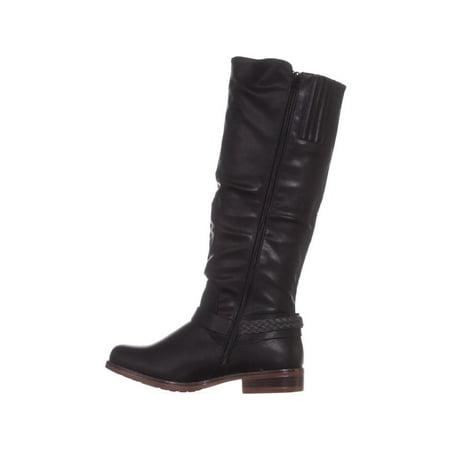 XOXO Mauricia Tall Riding Boots, Black - image 3 de 6