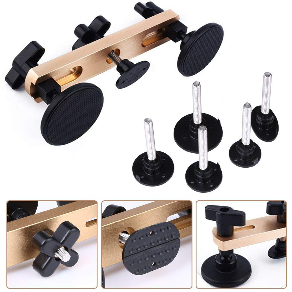 black fengzong Dent Puller Bodywork Repair Panel Screen Open Tool Universal Remover Carry Tools Car Suction Cup Pad