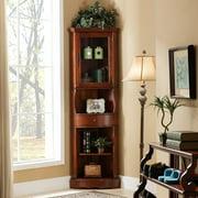 All Things Cedar Corner Curio Cabinet