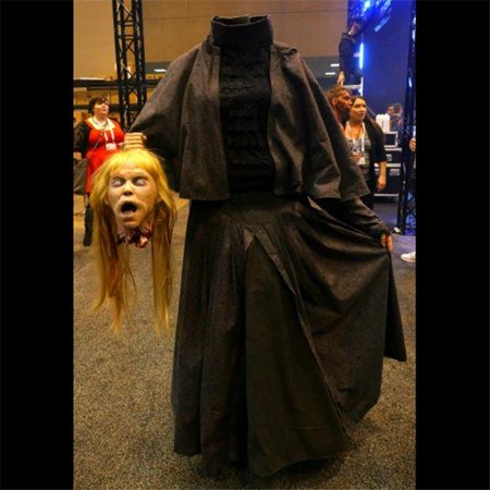 Distortions Unlimited DU1528 Headless Helga Costume - Headless Horseman Costume