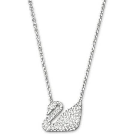 Swarovski Swan Necklace - 5007735 (Sterling Silver Swarovski Jewelry)