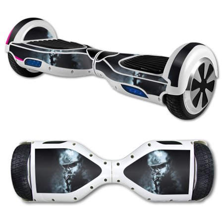 MightySkins Protective Vinyl Skin Decal for Hover Board Self Balancing Scooter mini 2 wheel x1 razor wrap cover sticker Target - Hoverboard Stickers