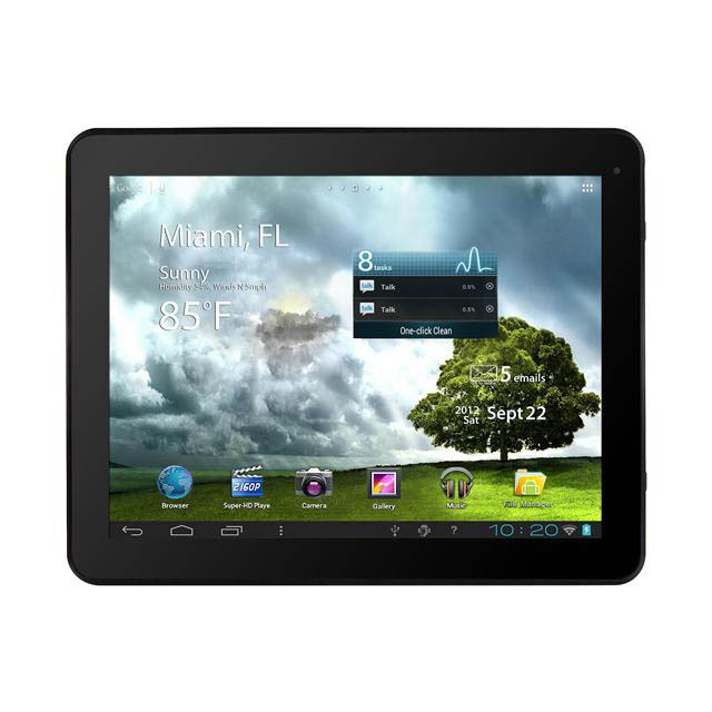 "Refurbished Trio Stealth Pro 8GB 9.7"" Touchscreen Android 4.0 WiFi Tablet with Dual Cameras"