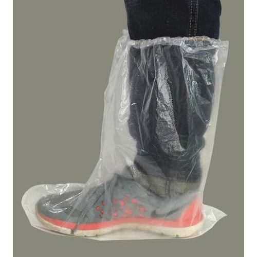 CONDOR 32KF98 Boot Cover, 15-1/2 in., Clear, PK50