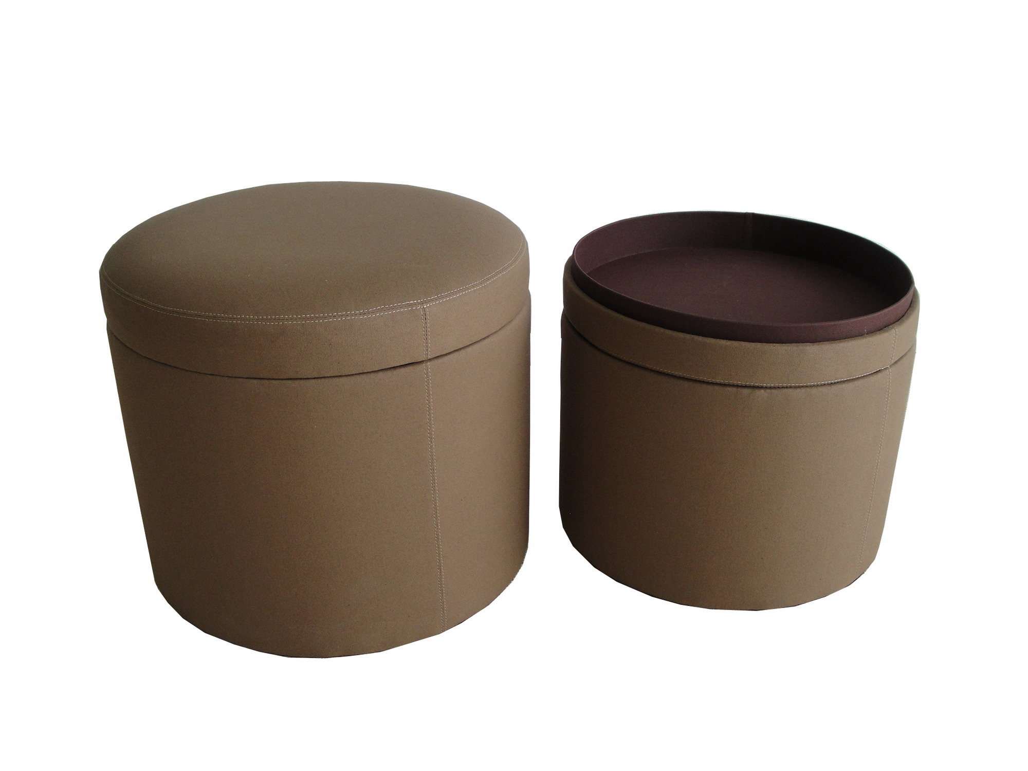 screen gems valencia canvas round storage ottoman sgt0a4sl