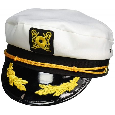 Adult and Child Sailor Yacht Boat Captain Hat Set Navy Marines Admiral Cap Hats](Yacht Caps)
